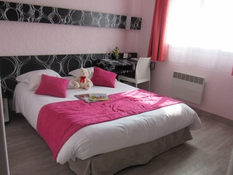 Perros Guirec Hotel Les Sternes Chambre Double